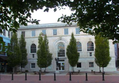Pack Memorial Library Building
