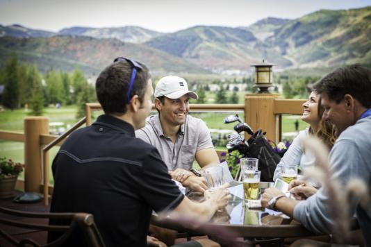 Group Golf on the 19th Hole