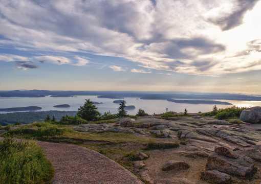 Cadillac Mountain Acadia National Park Maine