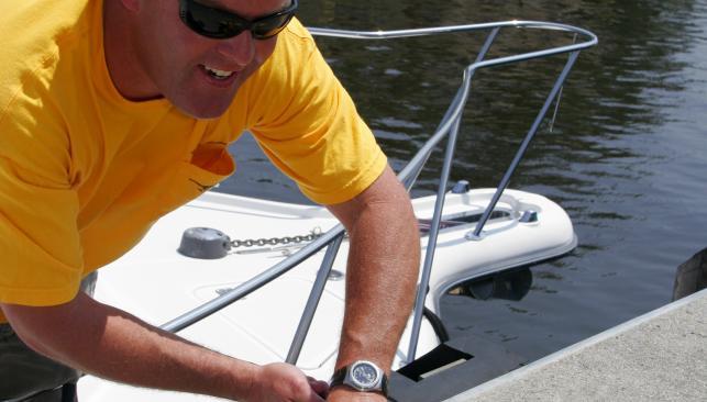 Great Bridge Lock Boat Tie Up