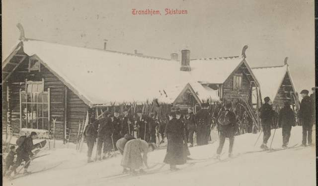 Skistua, Trondheim (1908)