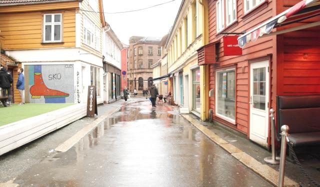Skostredet, Bergen