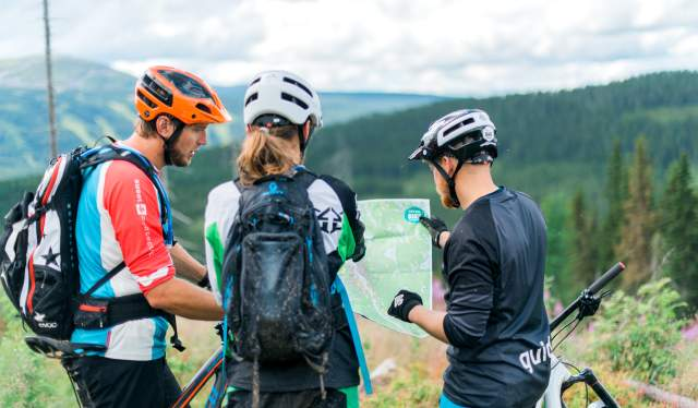 Planning a trail cycling trip in Trysil
