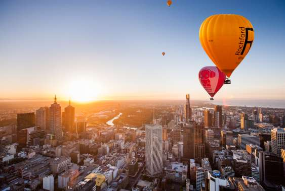 melbourne hot air balloon