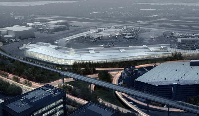Sea-Tac Airport International Arrivals Building