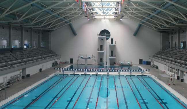 Aquatics Center Pool