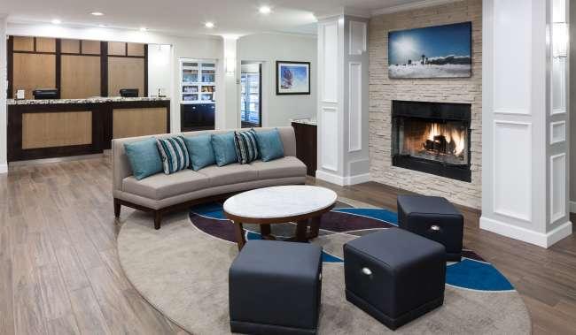Homewood Suites Lobby