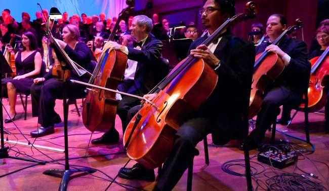 Northwest Symphony Orchestra Cellos