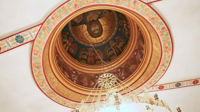 Holy Trinity Light Detail