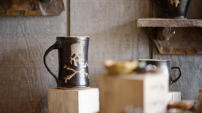 Iconic Tire City Potters Mugs