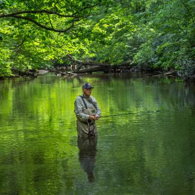 Linda Seanor, Fishermen, Laurel Hill State Park, Somerset County