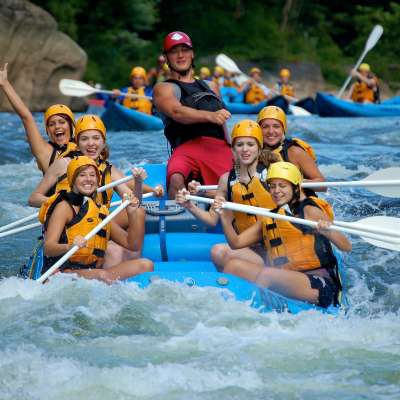 White Water Rafting on the Youghiogheny River, Ohiopyle State Park