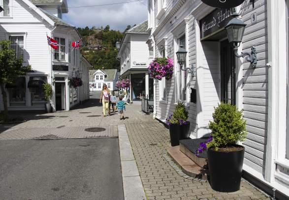 Hollenderbyen Flekkefjord Norway