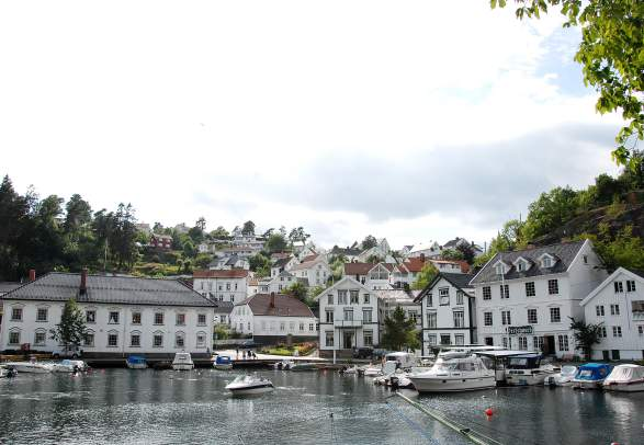 Tvedestrand harbour