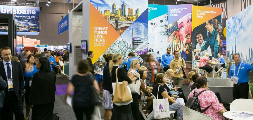 AIME Exhibition at MCEC