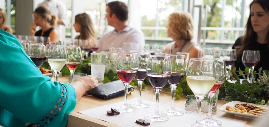 Chocolate and Wine Pairing session at ZINC