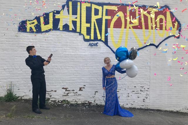 Rutherfordton Selfie Mural