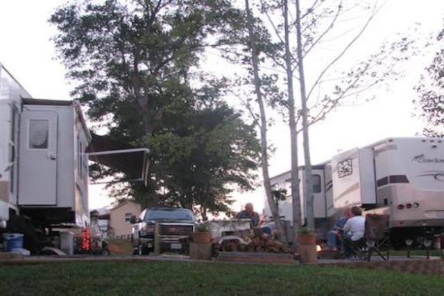 Campgrounds in the Foothills of North Carolina