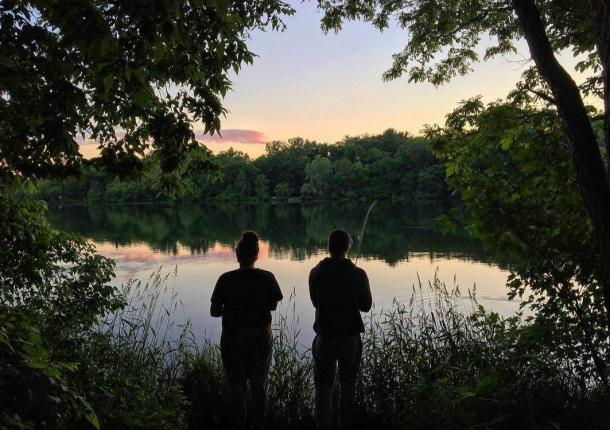 River Prairie Fishing