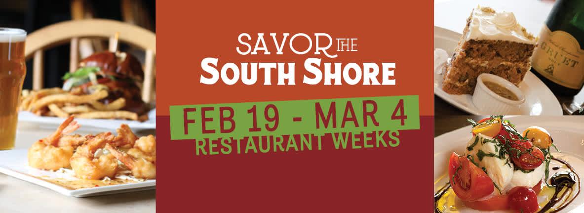 Savor the South Shore Restaurant Weeks 2018
