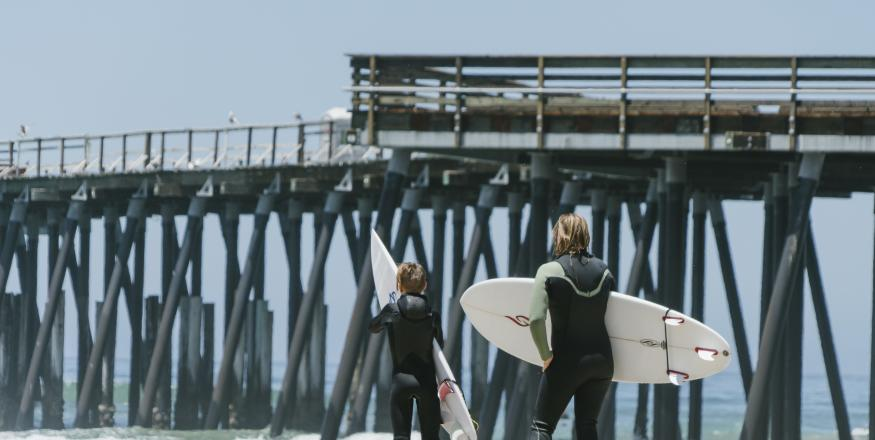 Catch the Wave: Surfing in SLO CAL