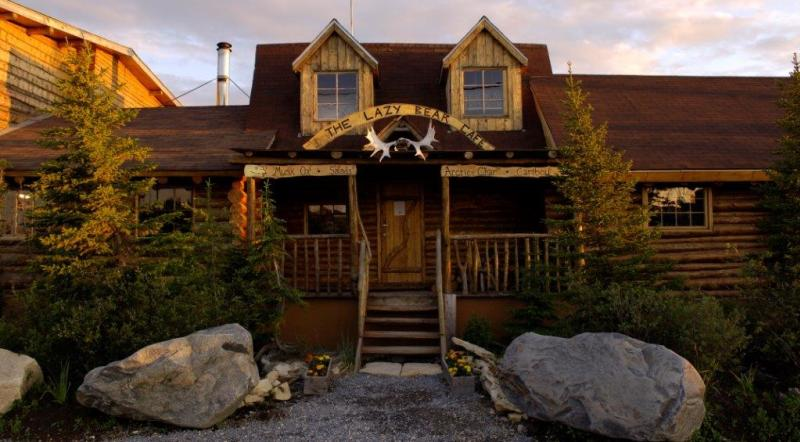 Exterior shot of Lazy Bear Expeditions