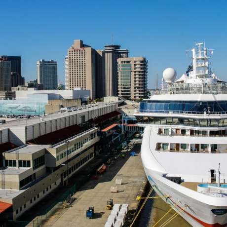 Cruise Ship Port