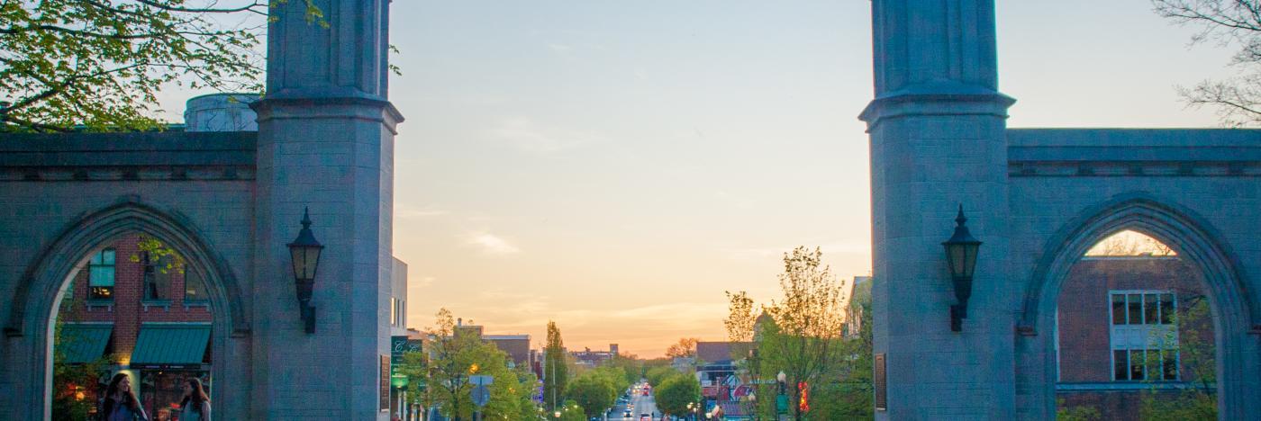 Blooming Indiana Gates Sunset