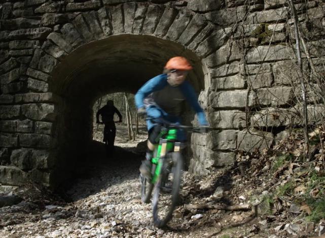 Lars Sternberg and Tyler Horton Mountain Biking in Northwest Arkansas
