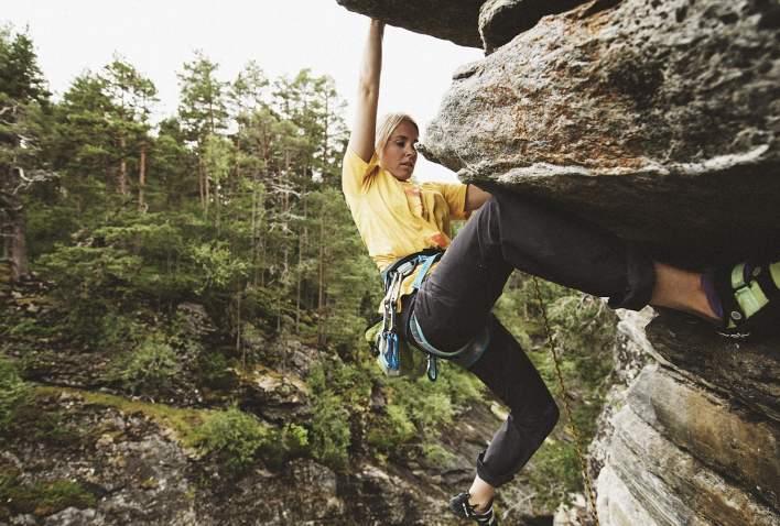 Climbing in Oppdal