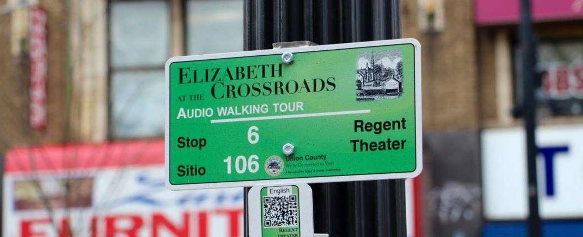 Walking Tour Signage