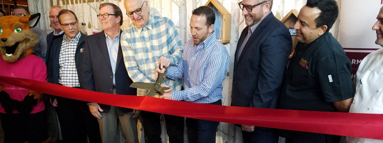Founding Farmers celebrated the opening of its King of Prussia restaurant with a ribbon cutting on November 1