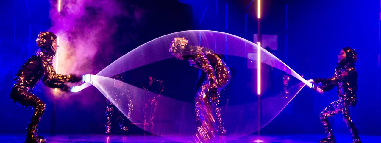 Cirque du Soleil VOLTA Photo Credit: Benoit z. Leroux. Costumes by Zaldy