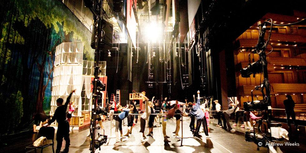 Nutcracker: Dance Company Warm Up