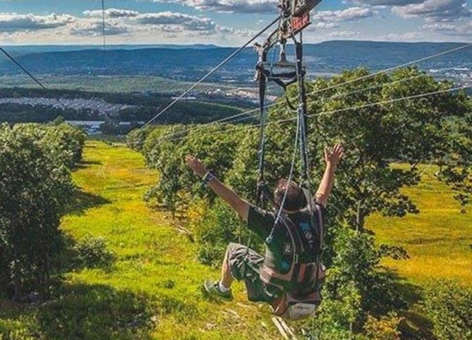 Zip Rider Montage Mountain