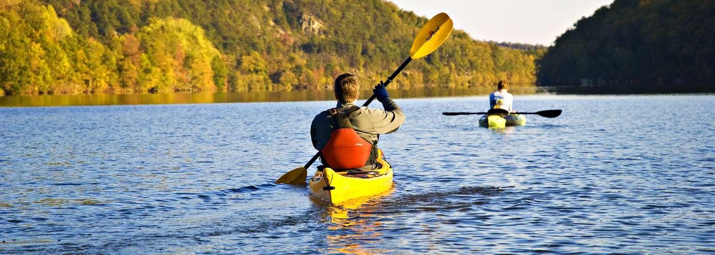 Kayaking in Rowan County