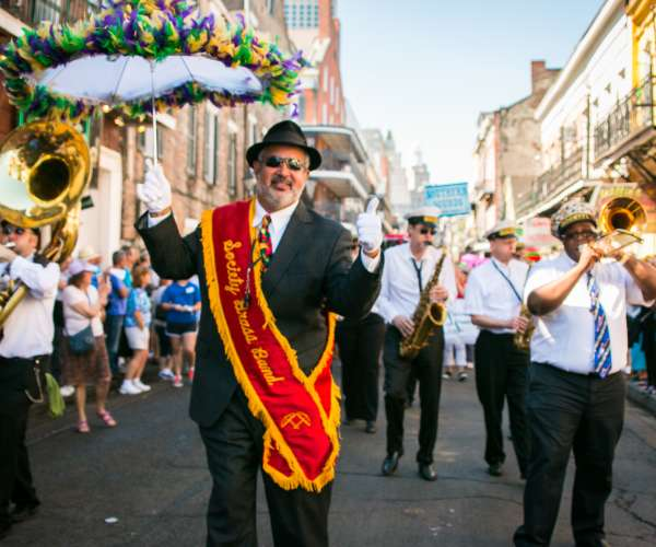 French Quarter Festival- Society Brass Band