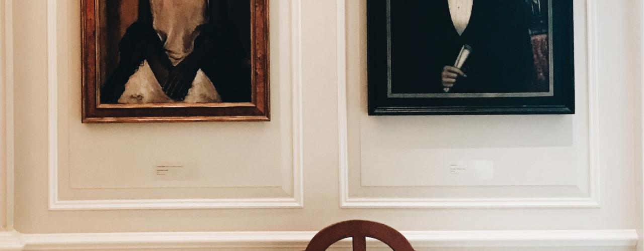 Opposite Portaits at the Augusta Museum