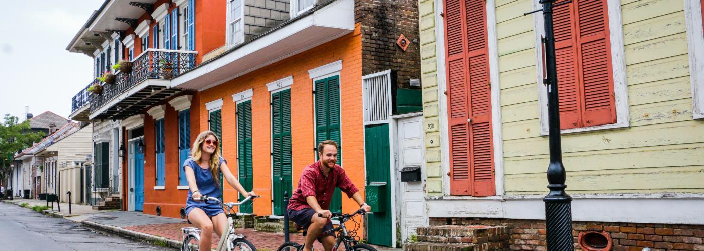 French Quarter Biking