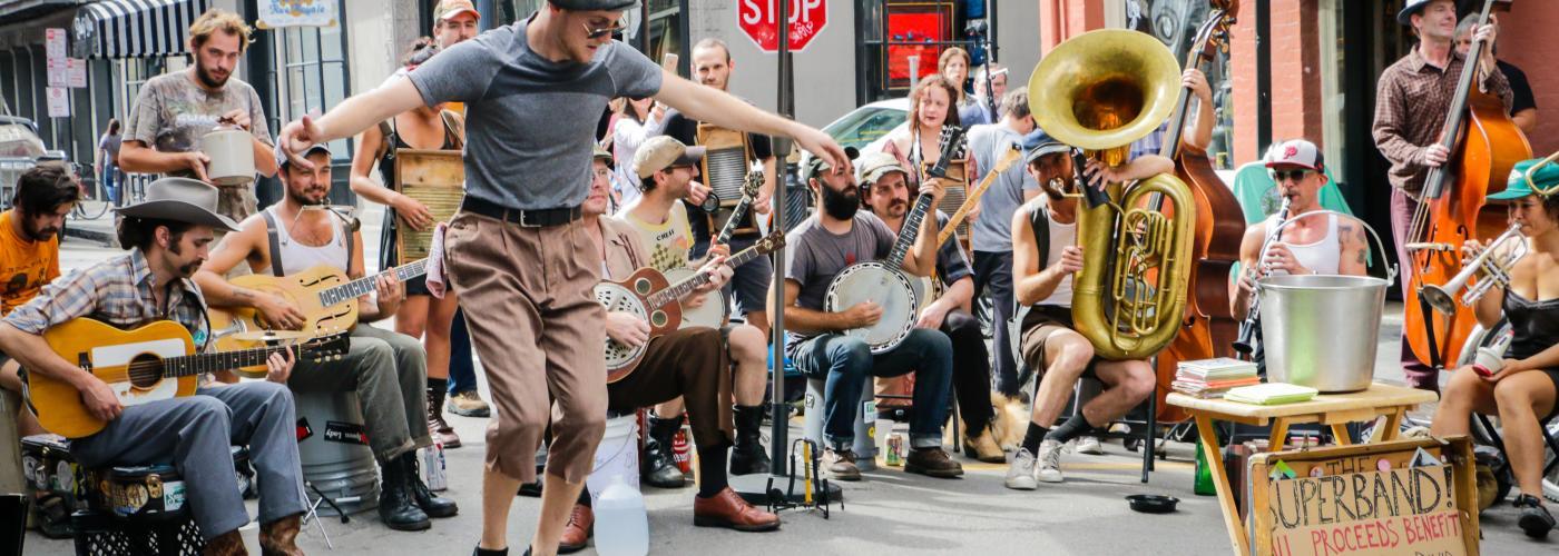 Royal Street Musicians- Street Performers