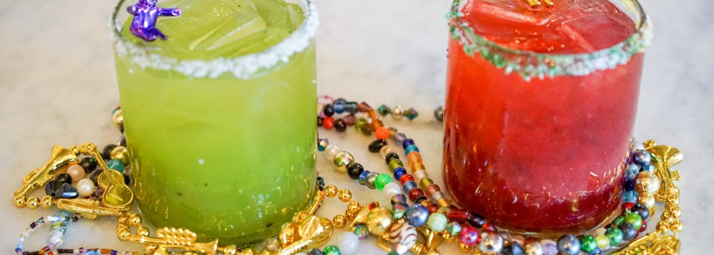 Johnny Sanchez Mardi Gras Margaritas - Mardi Gras 2016