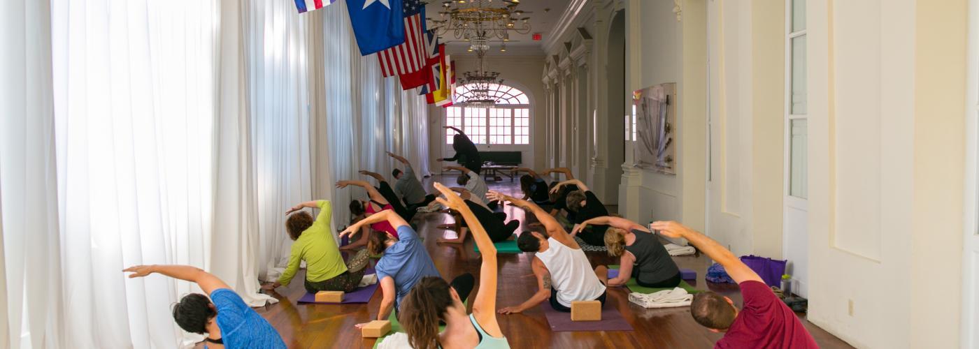 Yoga at the Cabildo- Louisiana State Museum