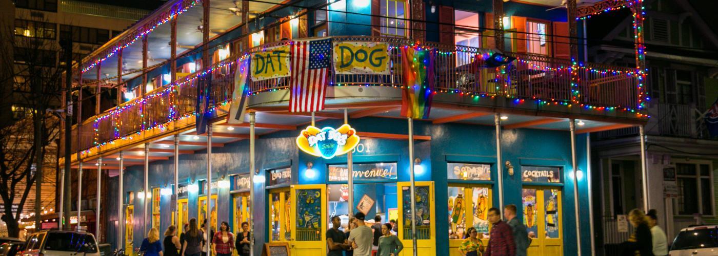 Frenchmen Street- Dat Dog