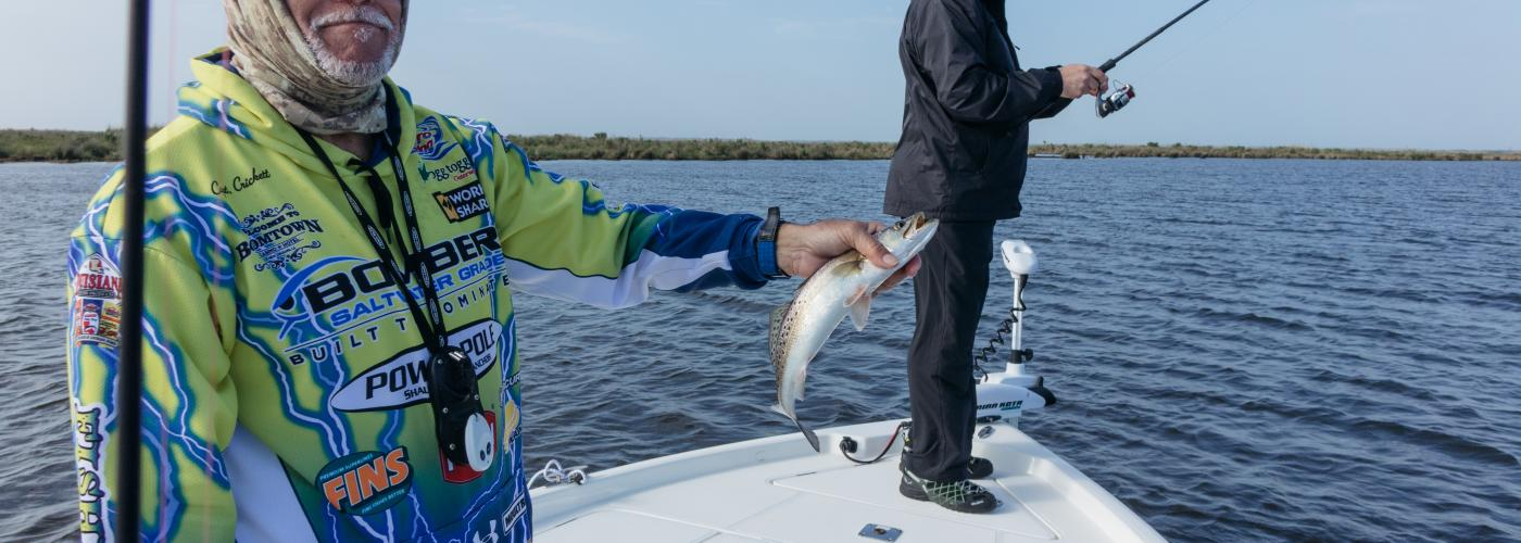 Bourgeois Fishing Charters - Catch and Cook Fishing Trip with Dickie Brennan Restaurant Group