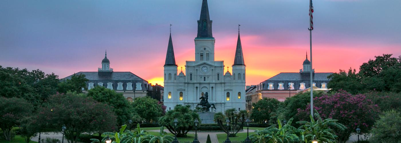 Jackson Square Sunset