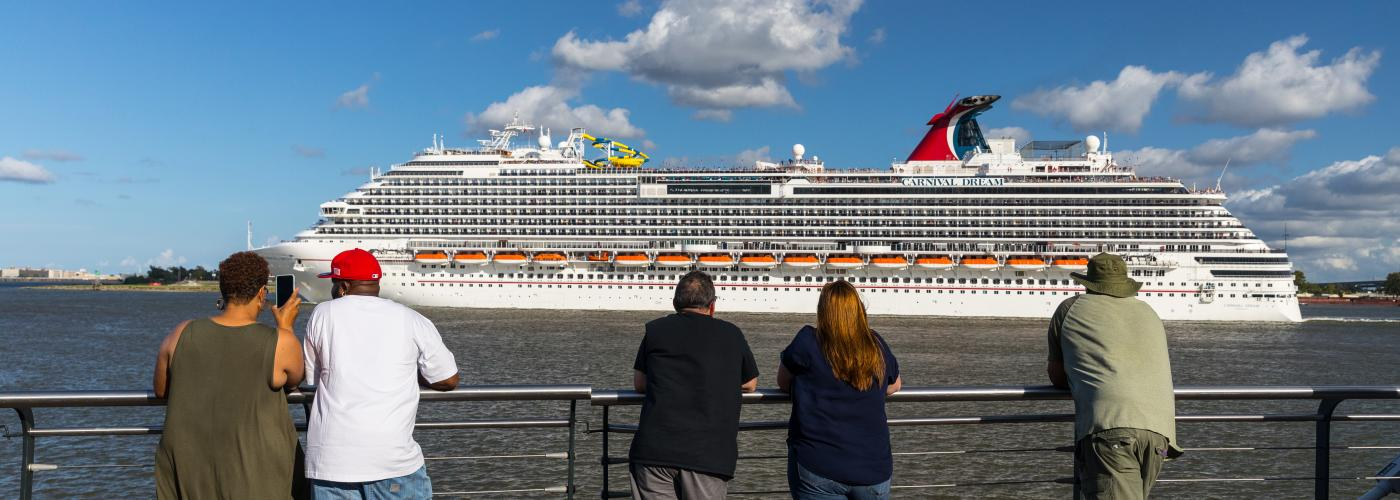 Carnival Dream on the Mississippi