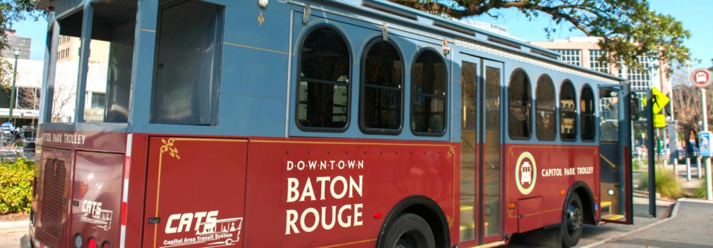Photo of the Capitol Park Trolley