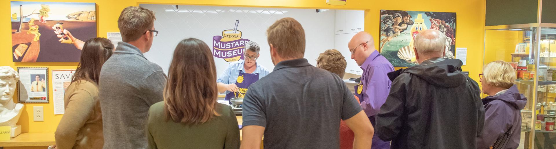 Mustard Museum Microsite Header