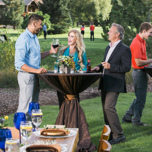 Outdoor Reception and Dinner at Hotel Park City, Utah