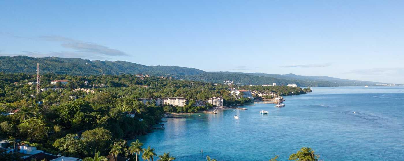 Jamaica Inn aerial view